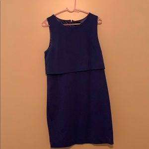 Women's Navy Blue sleeveless Dress